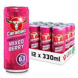 Carabao Energy Drink Mixed Berry 330ml