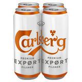 Carlsberg Premium Expørt Pilsner 4 x 568ml