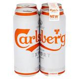 Carlsberg Export Lager Beer 4 x 500ml