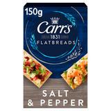 Carr's Flatbreads Salt & Pepper 150g