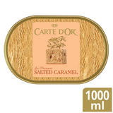 Carte D'or Salted Caramel Ice Cream Dessert 1000ml
