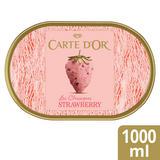 Carte D'or Strawberry Ice Cream Dessert 1000ml