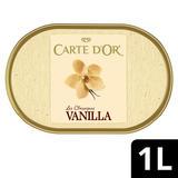 Carte D'or Vanilla Ice Cream Tub 1000 ml