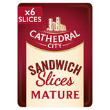 Cathedral City 6 Slices Mature Cheese 150g