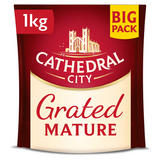 Cathedral City Grated Mature Cheese 1kg