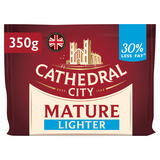 Cathedral City Mature Lighter Cheddar Cheese 350g