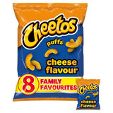 Cheetos Puffs Cheese Multipack Snacks 8x13g