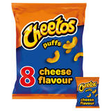 Cheetos Puffs Cheese Snacks 8x13g