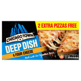 Chicago Town Deep Dish Four Cheese 4 x 155g (620g)