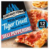 Chicago Town Pizza Kitchen Tiger Crust Deli Pepperoni 355g