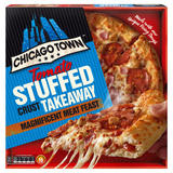 Chicago Town Takeaway Large Stuffed Crust Magnificent Meat Feast Pizza 640g