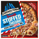 Chicago Town Takeaway Large Stuffed Crust Sticky Sweet Cola BBQ 650g