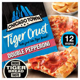 Chicago Town Tiger Crust Double Pepperoni 320g