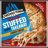 Chicago Town Takeaway Medium Stuffed Crust Cheese Pizza 480g