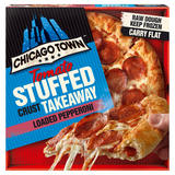 Chicago Town Tomato Stuffed Crust Takeaway Loaded Pepperoni 645g