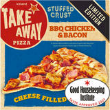 Iceland BBQ Chicken and Bacon Cheese Filled Crust Pizza 460g