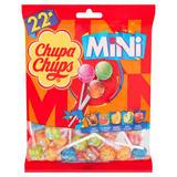 Chupa Chups 22 Assorted Flavour Mini Lollipops 132g
