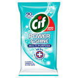 Cif Power & Shine Antibacterial Wipes Original 90s