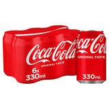 Coca-Cola Original Taste 6 x 330ml