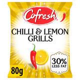 Cofresh Chilli & Lemon Grills Flavoured Potato Snack 80g