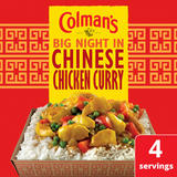 Colman's Chinese Chicken Curry Recipe Mix 47 g