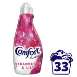 Comfort Strawberry & Lily Fabric Conditioner 33 Wash
