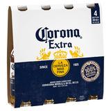 Corona Lager Beer Bottles 4 x 330ml