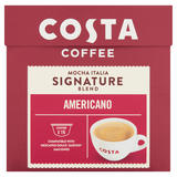 Costa Nescafe® Dolce Gusto® Compatible Signature Blend Americano 16 x 7.6g (121.6g)