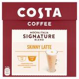 Costa Nescafe® Dolce Gusto® Compatible Signature Blend Skinny Latte 161.6g