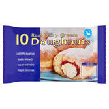 Country Style 10 Real Dairy Cream Doughnuts 520g