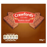 Crawford's Bourbon Creams Biscuits 300g