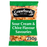 Crawfords Sour Cream & Chive Flavour Savouries 250g