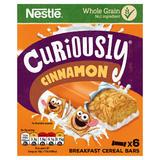Curiously Cinnamon Breakfast Cereal Bars 6 x 25g (150g)
