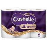 Cushelle Ultra Quilted Toilet Roll 6 Rolls