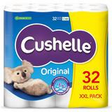 Cushelle White XXL 32 Toilet Rolls
