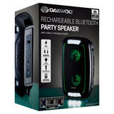 Daewoo Rechargeable Bluetooth Party Speaker