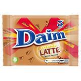 Daim Caramel Latte Bar 3 Pack 84g