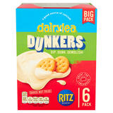Dairylea Dunkers Cheese Dip with Ritz 6 Pack 276g