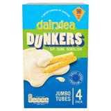 Dairylea Dunkers Jumbo Tubes Cheese Snacks 4 Pack 164g
