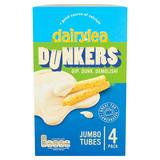 Dairylea Dunkers Jumbo Tubes Cheese Snacks 4 x 45g