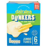Dairylea Dunkers Jumbo Tubes Cheese Snacks 6 x 45g