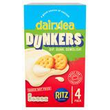 Dairylea Dunkers Ritz Cheese Snacks 4 x 46g