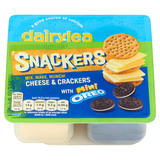 Dairylea Snackers Cheese & Crackers with Mini Oreo 76.8g