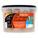 Dawn Chorus 50 Wild Bird Un-Netted Fatballs 4kg