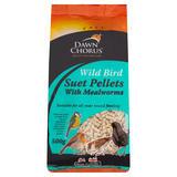 Dawn Chorus Wild Bird Suet Pellets with Mealworms 500g