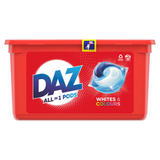Daz ALL in 1 PODs Washing Liquid Capsules Whites & Colours 39 Washes