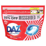 Daz ALL-in-1 PODs Washing Liquid Capsules Whites & Colours 54 Washes