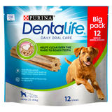 Dentalife Large Dog Treat Dental Chew 12 Stick