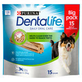 DENTALIFE Medium Dog Treat Dental Chew 15 Stick