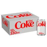 Diet Coke 12 x 330ml Cans